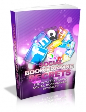 Social Bookmarking Secrets eBook with private label rights