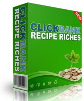 CB Recipe Riches eBook with Resale Rights