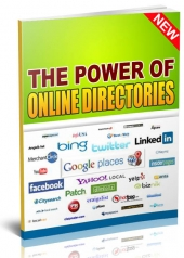 The Power of Online Directories eBook with Personal Use Rights