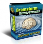 Brainstorm Domain Generator Software with Master Resale Rights