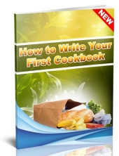 How to Write Your First Cookbook eBook with Resale Rights