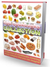 100 Cookbooks Collection eBook with Resale Rights