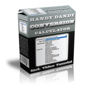 Handy Dandy Conversion Calculator Software with Master Resell Rights