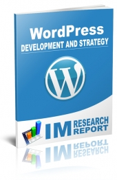 WordPress Report - Development and Strategy eBook with Master Resell Rights