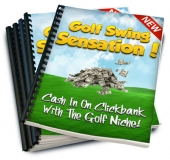 Golf Swing Sensation eBook with Resale Rights