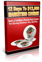 12 Days To $12,000 Marketing Course Audio with Personal Use Rights