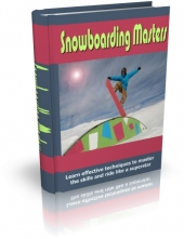 Snowboarding Masters eBook with private label rights