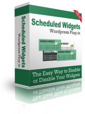 Scheduled Widgets WordPress Plugin eBook with Personal Use Rights