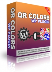 QR Colors WP Plugin Software with Personal Use Rights