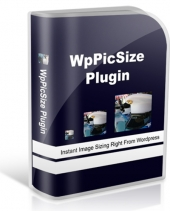 WP Pic Size Plugin Software with Master Resale Rights