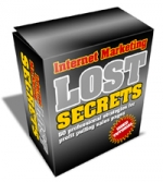 Internet Marketing Lost Secrets Video with Master Resale Rights