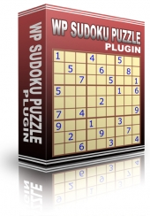 WP Sudoku Puzzle Plugin Software with Personal Use Rights