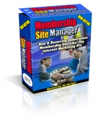 Membership Site Manager V.2 Software with Master Resale Rights