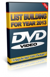 List Building 2013 Video with Master Resell Rights