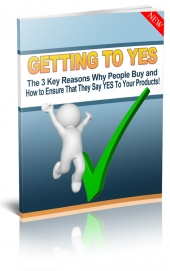 Getting to Say YES! eBook with Personal Use Rights