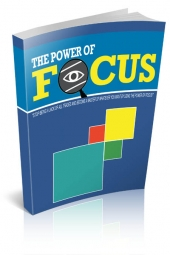 The Power of Focus eBook with Personal Use Rights