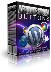 Affiliate Social Buttons Graphic with Master Resale Rights