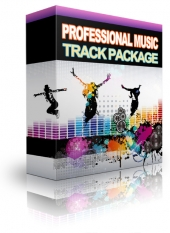 Professional Music Track Package Audio with Resale Rights