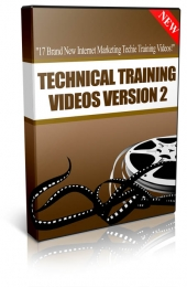Technical Training Videos v2 Video with Master Resale Rights