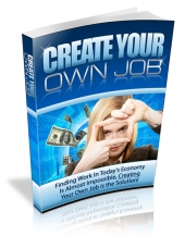 Create Your Own Job eBook with Master Resale Rights