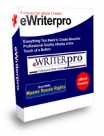 eWriterPro - Professional eBook Creator Software with Master Resale Rights