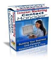 Internet Marketing Contact Manager Software with Private Label Rights