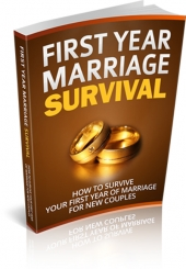First Year Marriage Survival eBook with private label rights