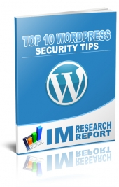 WordPress Security Tips eBook with Giveaway Rights