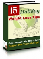15 Holiday Weight Loss Tips eBook with Private Label Rights