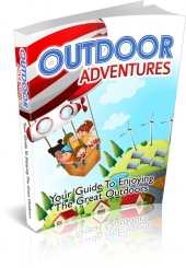 Outdoor Adventures eBook with private label rights