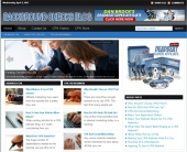 Background Checks Blog Template with Personal Use Rights