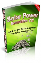 Solar Power Sensation Version 2 eBook with Resale Rights