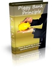 Piggy Bank Principle eBook with private label rights