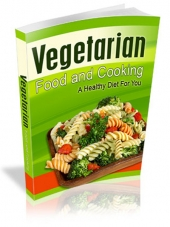 Vegetarian Food and Cooking eBook with Resale Rights