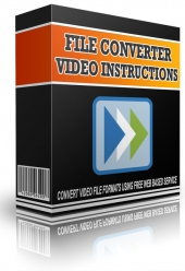 Convert Video File Formats Using Free Web Based Service Software with Master Resell Rights
