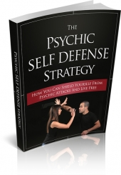 The Psychic Self Defense Strategy eBook with private label rights