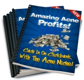 Amazing Acne Profits eBook with Resale Rights