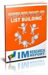 Complete Book of List Building eBook with Personal Use Rights
