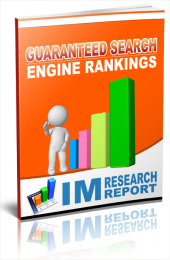 Guaranteed Search Engine Rankings eBook with Personal Use Rights