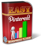 Easy Pinterest WordPress Plugin Software with Personal Use Rights
