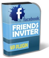 Facebook Friends Inviter WP Plugin Software with Personal Use Rights