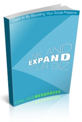 Link And Expand Your Biz eBook with Personal Use Rights