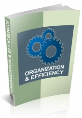 Organization & Efficiency eBook with Personal Use Rights