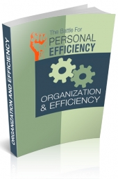 Organization And Efficiency V2 eBook with Personal Use Rights