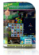 Fun Zone Game Collection Plugin Software with Resale Rights