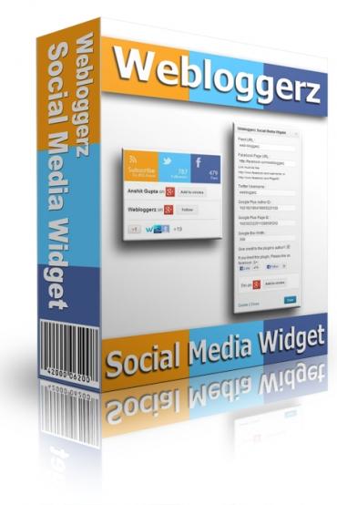 Webloggerz Social Media Widget