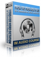 Word For Word Dictation Of A Successful Email Campaign Audio with Private Label Rights
