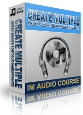 Create Multiple Entry Points For Your Sales Funnel Audio with Private Label Rights