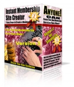 Instant Membership Site Creator Software with Master Resale Rights