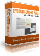 Effortless Landing Pages Plugin Software with private label rights